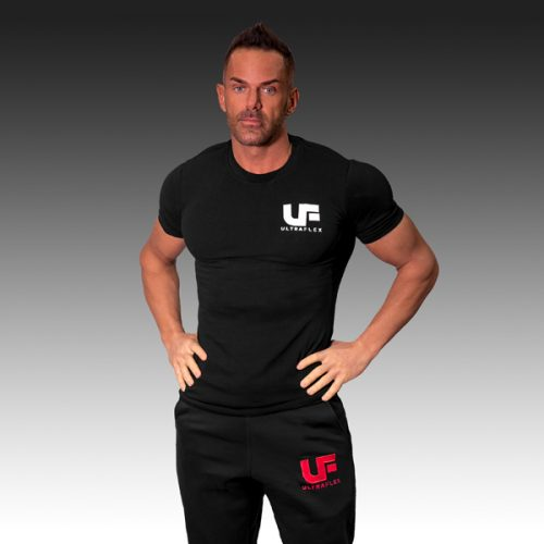 UF Black with White T-Shirt