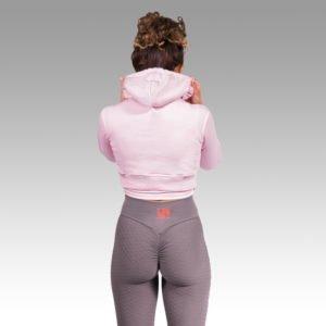 UF Pink Cropped Hoodie
