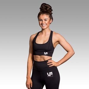 UF Black Sports Bra