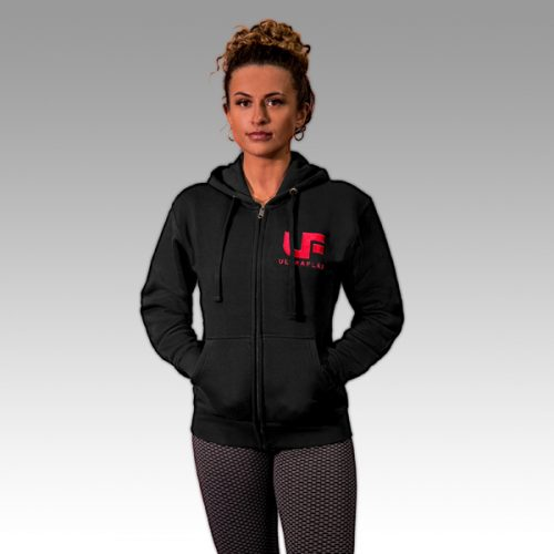 UF Black with Red Hoodie